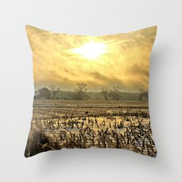 Overcast Sunrise 2 Throw Pillow