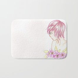 flora 01 Bath Mat