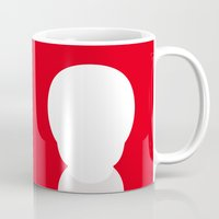the who Mugs featuring Who? by ONEDAY+GRAPHIC
