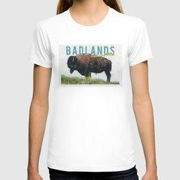 Badlands National Park Vintage Postcard T-shirt