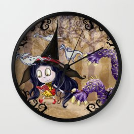 Walking to School Wall Clock