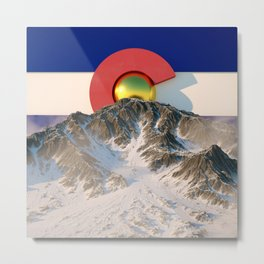 COLORADO RISING Metal Print