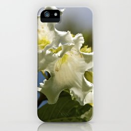"""Moonflower"" by ICA PAVON iPhone Case"