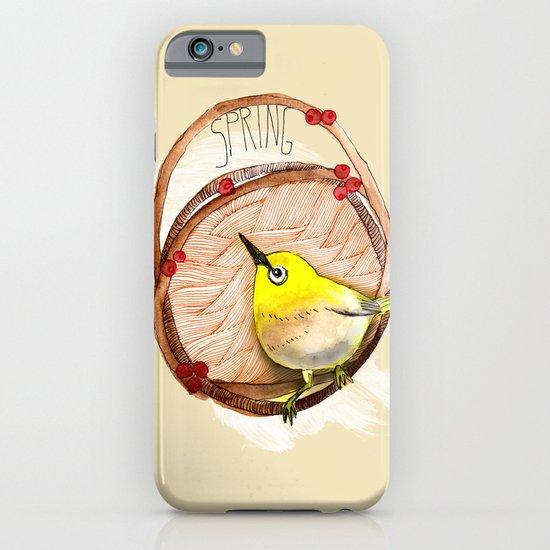 Spring birdy / Nr. 1 iPhone & iPod Case