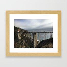 Looking through Bixby Framed Art Print