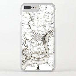 Philadelphia - Pennsylvania  -United States - 1777 Clear iPhone Case