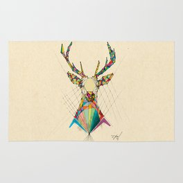 Illustrated Antelope Rug