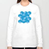 escher Long Sleeve T-shirts featuring Escher #007 by rob art | simple