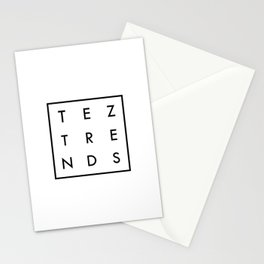 Tez Trends Logo Collection Stationery Cards