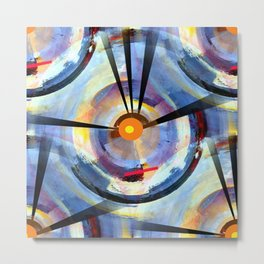 Abstract Charm Offensive Metal Print