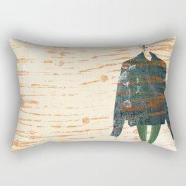 Oversize Denim Rectangular Pillow