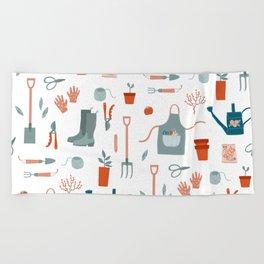 Gardening Beach Towel