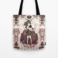 barachan Tote Bags featuring shine by barachan