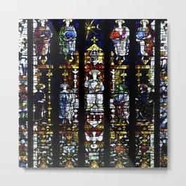 St Mary's Window Metal Print