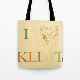 I heart Klimt Tote Bag