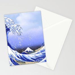 Surf's Up! The Great Wave Stationery Cards