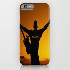 Sunset Guitar Man Silhouette Slim Case iPhone 6s