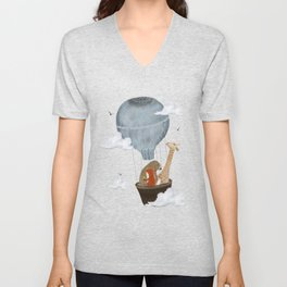 a big adventure Unisex V-Neck
