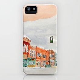 Jefferson Street iPhone Case