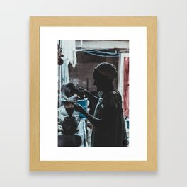 """""""Yaya"""" Framed Art Print"""