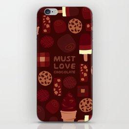 Must Love Chocolate iPhone Skin