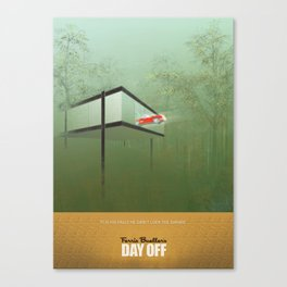 """You killed the car"" - Ferris Bueller's Day Off Canvas Print"