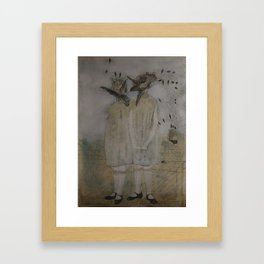 Lost sisters Framed Art Print
