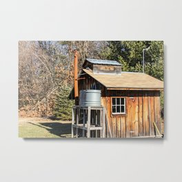 The Old Sugar House Metal Print