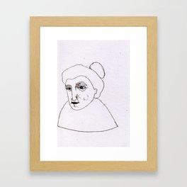 no starring allowed Framed Art Print