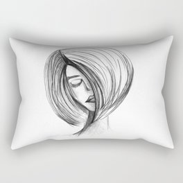 Girlie 01 Rectangular Pillow