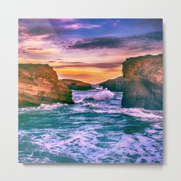 As Catedrais Metal Print