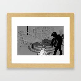 The Creeps Framed Art Print