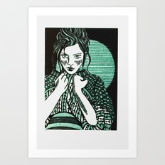 Sweater Art Print