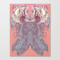 insect Canvas Prints featuring insect by Maethawee Chiraphong