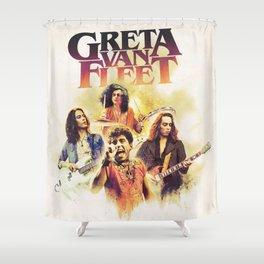 greta music van fleet 2021 Shower Curtain