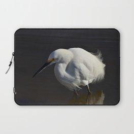Snowy Egret I Laptop Sleeve