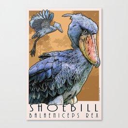 Shoebill Bird Canvas Print