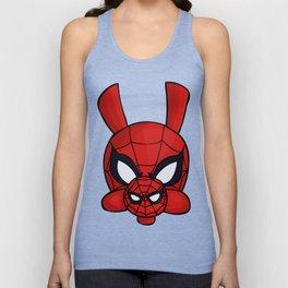 Spider-Ham Face Unisex Tank Top