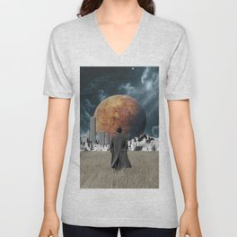 Out of the past & into the future Unisex V-Neck