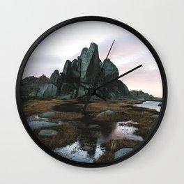 Aries Tor Sunrise Wall Clock