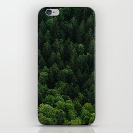 Swiss forest iPhone Skin