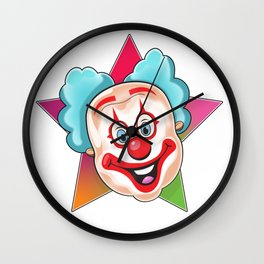 Clown Wall Clock