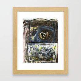 critical eye....an interior view Framed Art Print