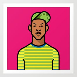 Prince of Bel Air Art Print