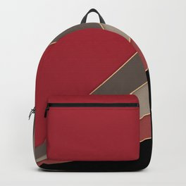 22 Abstract geometric pattern Backpack