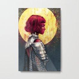 Joan of Arc Metal Print