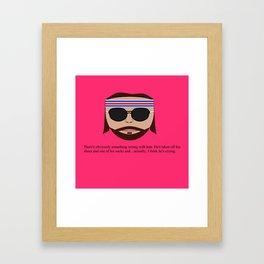 "Richie ""The Baumer"" Tenenbaum Framed Art Print"