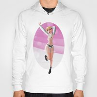 miley Hoodies featuring Miley by raulovsky (Raúl Ramos Melo)