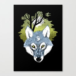 Wolf Phase Canvas Print