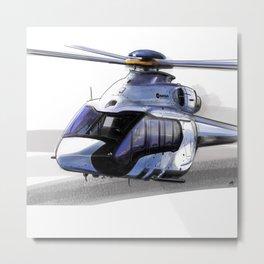 Airbus H-160 Metal Print